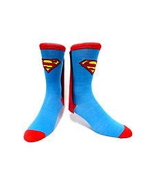 Caped Superman Crew Socks - DC Comics