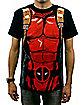 Black Deadpool T-Shirt- Marvel Comics