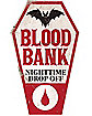 Blood Bank Plastic Sign
