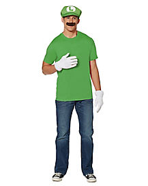 Luigi Costume Kit - Mario Bros  sc 1 st  Spirit Halloween : luigi costume accessories  - Germanpascual.Com