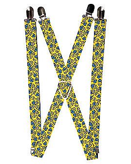 Minions Face Suspender - Despicable Me