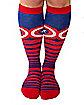 Captain America Knee High Socks - Marvel