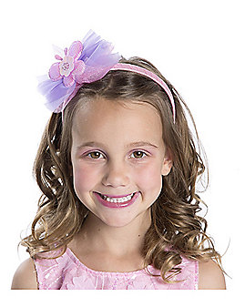 Kids Pastel Butterfly Headband