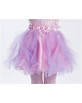 Kids Pink and Purple Butterfly Tutu