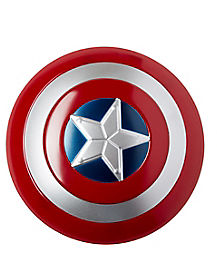 Kids Strapped Captain America Shield
