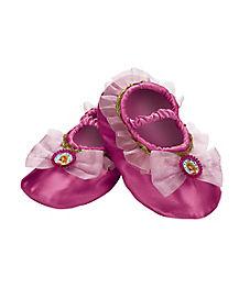 Kids Princess Aurora Slippers - Sleeping Beauty