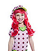 Kids Strawberry Shortcake Wig - Strawberry Shortcake