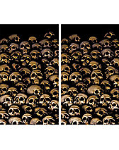 Skull Catacombs Halloween Decoration