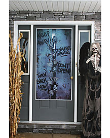 Zombie Breakout Door Cover - Decorations