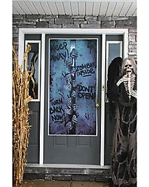 Zombie Breakout Door Cover   Decorations