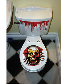 Creepy Carnival Toilet Seat Cover