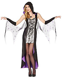 adult spiderweb sorceress witch costume - Salem Witch Halloween Costume