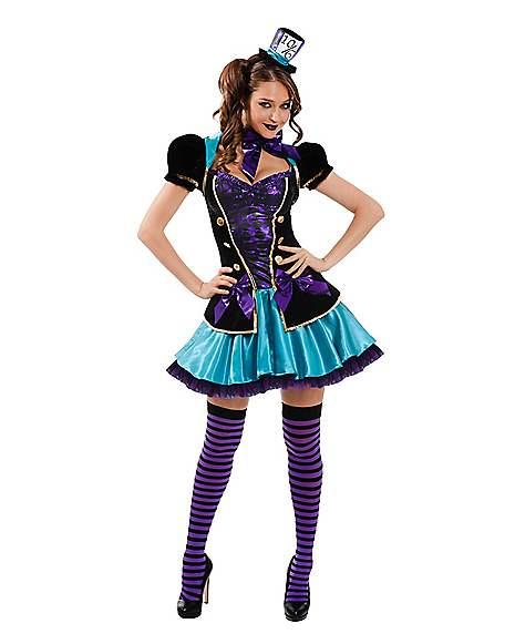 Adult Mad Hatter Costume - Alice In Wonderland - Spirithalloween.com