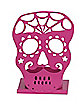 Fuchsia Skull Tealight Holder