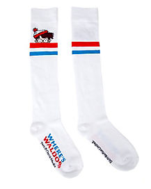 Striped Knee Socks - Where's Waldo