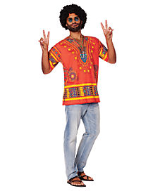 Adult Hippie Shirt Costume