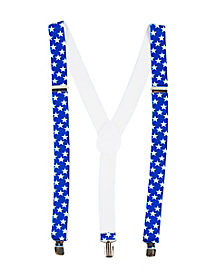 Stars and Stripes Suspenders