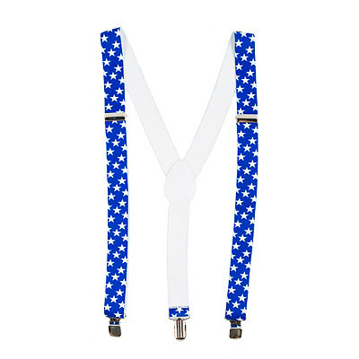 Men's Vintage Style Suspenders Stars and Stripes Suspenders $9.99 AT vintagedancer.com