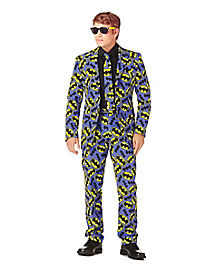 Adult Batman Logo Party Suit - Batman