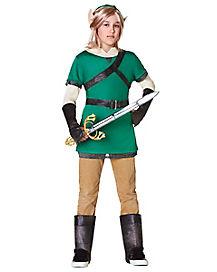Kids Woodland Warrior Costume