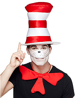 Cat in the Hat Top Hat Deluxe - Dr. Seuss