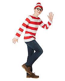 kids wheres waldo costume wheres waldo