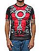 Sublimated Deadpool T Shirt - Marvel