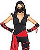 Adult Deadly Ninja Jumpsuit Costume