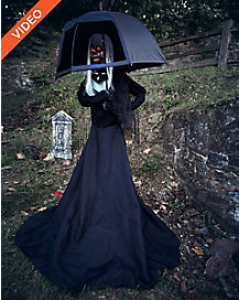 6 ft mourning gory animatronics decorations - Spirit Halloween Decorations
