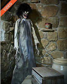 6 ft twitching banshee animatronics decorations - Spirit Halloween Animatronics