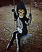 3 Ft Swinging Lil Skelly Bones Animatronics - Decorations