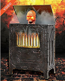3 ft incinerator animatronics decorations - Spirit Halloween Decorations