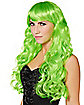 Green Curls Wig