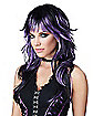 Purple and Black Tempting Tresses Wig