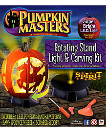 Rotating Carving Pumpkin Stand