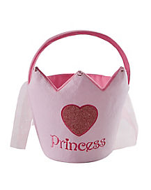 Plush Pink Princess Bucket