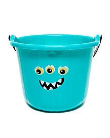Blue Monster Treat Bucket