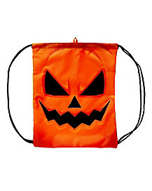 Dark Pumpkin Treat Bag