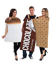 Adult 3 Piece S'mores Costume