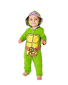 Baby Donatello Coveralls Costume - Teenage Mutant Ninja Turtles
