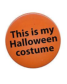 Halloween Costume Button
