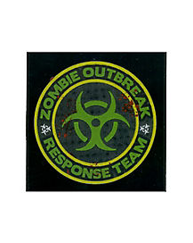 Zombie Outbreak Car Decal