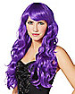 Purple Curls Wig