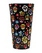 All Over Sugar Skull Plastic Cup