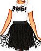 Bat Tulle Skirt
