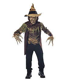 Kids Creepy Scarecrow Costume