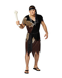 Adult Brown Caveman Costume
