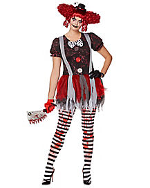 Killer Clown Halloween Costumes For Girls.Scary Killer Clown Costumes For Kids Adults Spirithalloween Com