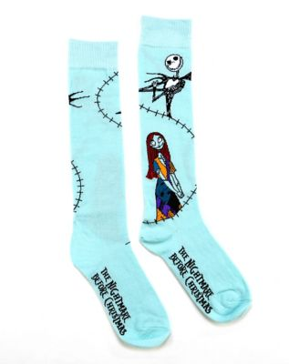 Stitched Sally Knee High Socks - The Nightmare Before Christmas by Spirit Halloween