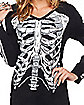 Long Sleeve Skeleton T Shirt